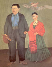 Frida & Diego, the world's most colorful couple